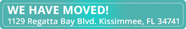 We have moved Kissimmee header image Beltran Periodontics Orlando Kissimmee FL